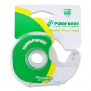 Clear Tape With Dispenser 18mmX33mm CC833C