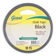 Cloth Tape (Black) 48mmX12m