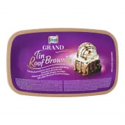 Grand Ice Cream Tin Roof Brownie 1L