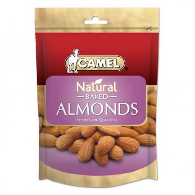 Natural Baked Almond Nuts 400g