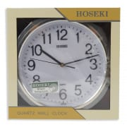 Quartz Wall Clock Silent Sweep Hands H-2169