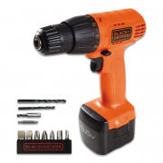 9.6V Cordless Drill Driver Kit with 11 pc acc
