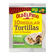 Tortillas Burrito Regular Soft & Flexible 10s 400g