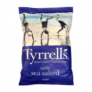 TYRRELLS Potato Chips Lightly Sea Salt 150g