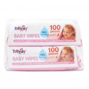 Baby Wipes - Unscented 2X100s