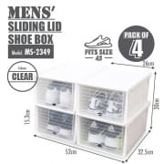 Shoe Box Mens 4s