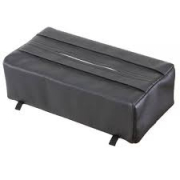 Tissue Box Cover Black LF142