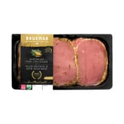 BRUEMAR Pork Lion Steak with Dijon Mustard & Herb