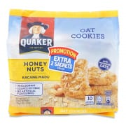 Oat Cookies Honey Nuts 10sX27g
