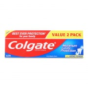 Maximum Cavity Protection Toothpaste - Regular 2X225g