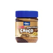 Peanut Butter with Chocolate Stripe 340g