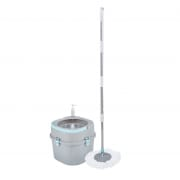 Dual Function Spin Mop Flat and Round Head