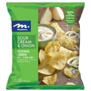 Potato Chips Sour Cream & Onion 60g