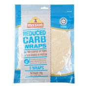 Reduced Carb Wraps 270g