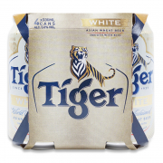 TIGER WHITE CAN 4S 330ML