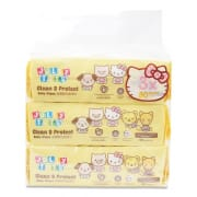 Hello Kitty Clean & Protect Wipes 3sX80s