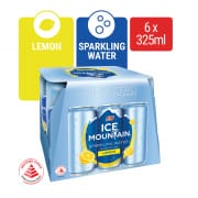 Sparkling Water Lemon 6sX325ml