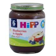Organic Blueberries in Apple 125g