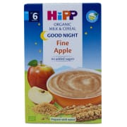 Organic Milk & Cereal - Good Night Fine Apple 6 Months 250g