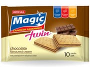 Magic Twin Cracker Sandwich - Chocolate 10s