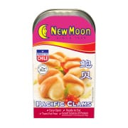 Pacific Clams 125g