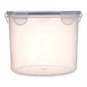 Round Airtight Food Container with Clips 2000ml