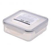 Square Airtight Food Container with Clips 430ml