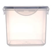 Square Airtight Food Container with Clips 1600ml