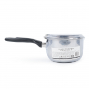 Stainless Steel Saucepan with Glass Lid 16cm