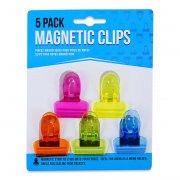 Magnetic Memo Clips 5 Pack