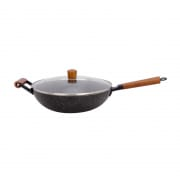 Marble Coating Inductino Wok Pan 32cm