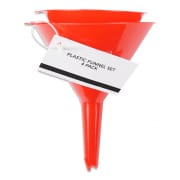 PLASTIC FUNNEL SET 4PK