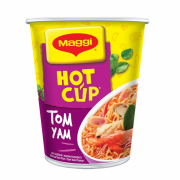Hot cup Noodle Tom Yam 66g