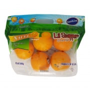 Navel Orange Pouch Bag