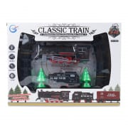 Classic Train Set with Lights and Music