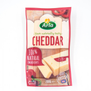 ARLA Natural Cheddar Block 200g