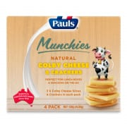 Natural Colby Cheese & Crackers 120g