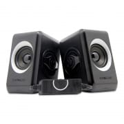 2.0USB Speakers Quatro 2  B.Cool Grey