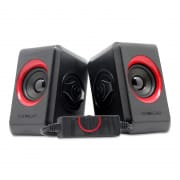 2.0USB Speakers Quatro 2  B.Festive Red