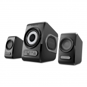 2.1 USB Speakers Quatro V Blackgrey