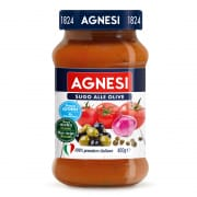 AGNESI Red Sauce Olive 400g