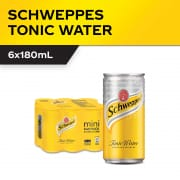 Tonic Water 6s X 180ml