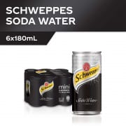 Soda Water 6s X 180ml