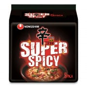 Red Super Spicy Noodle 5sX120g