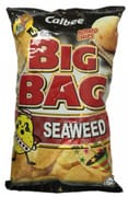 Big Bag Potato Chips Seaweed 165g