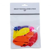 Smiley Face Balloons 12IN6S