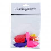 Standard Balloons 9 inch 6s 48