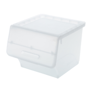Stackable Box with Lid Clear 35L