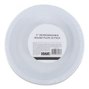 Biodegradable Round Plate 9
