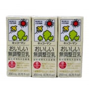 Soymilk Original Unsweetened 6sX200ml